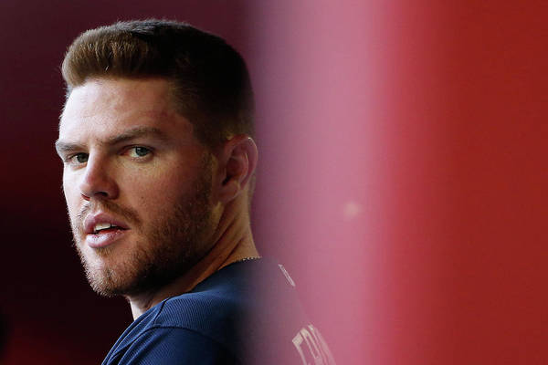 People Art Print featuring the photograph Freddie Freeman by Christian Petersen