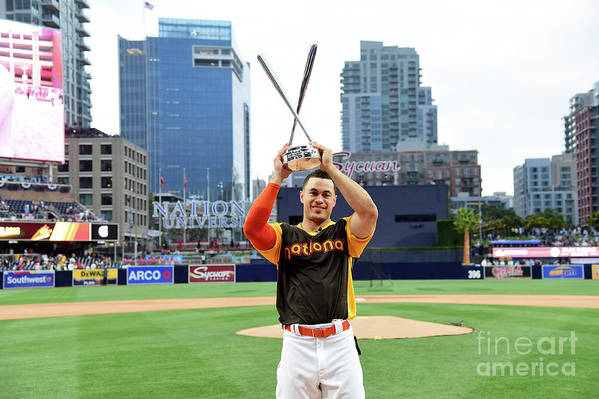 Three Quarter Length Art Print featuring the photograph Giancarlo Stanton by Harry How