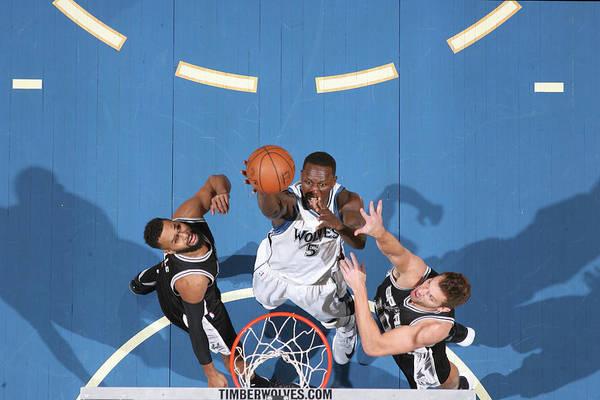 Nba Pro Basketball Art Print featuring the photograph Gorgui Dieng by David Sherman