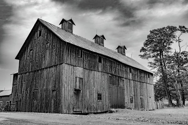 Landscape Art Print featuring the photograph Indiana Barn #276 by Scott Smith