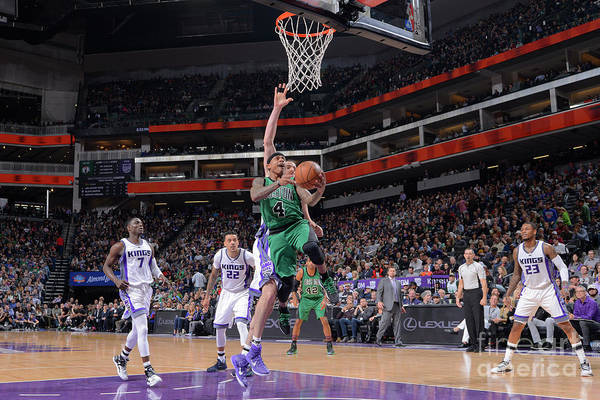 Nba Pro Basketball Art Print featuring the photograph Isaiah Thomas by Rocky Widner