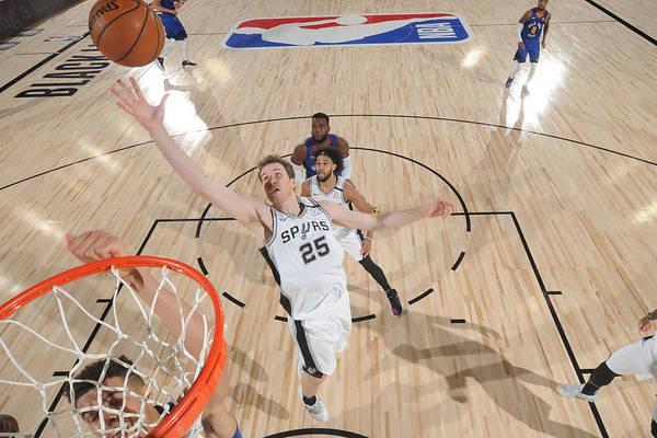 Nba Pro Basketball Art Print featuring the photograph Jakob Poeltl by Garrett Ellwood