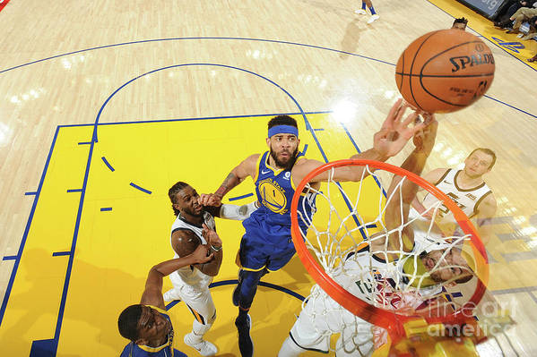 Nba Pro Basketball Art Print featuring the photograph Javale Mcgee by Noah Graham