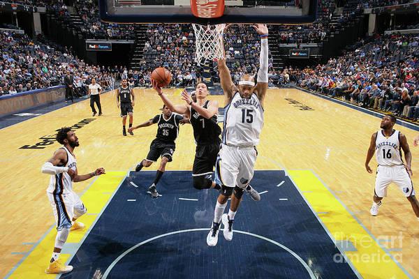 Nba Pro Basketball Art Print featuring the photograph Jeremy Lin by Joe Murphy