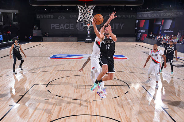 Nba Pro Basketball Art Print featuring the photograph Joe Harris by Jesse D. Garrabrant
