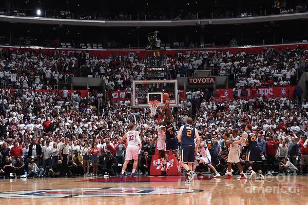 Playoffs Art Print featuring the photograph Joe Johnson by Andrew D. Bernstein