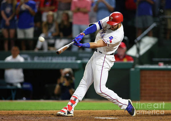 Ninth Inning Art Print featuring the photograph Joey Gallo by Rick Yeatts