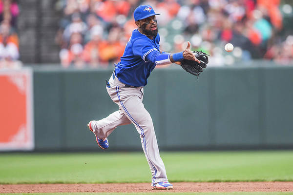 Double Play Art Print featuring the photograph Jose Reyes by Rob Tringali