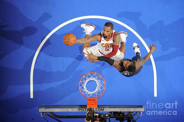 Nba Pro Basketball Art Print featuring the photograph J.r. Smith by Chris Schwegler