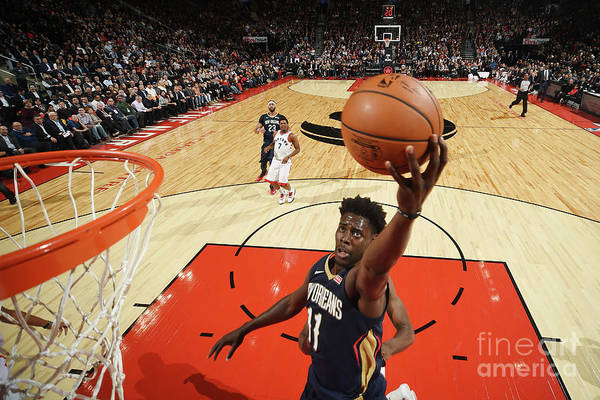 Nba Pro Basketball Art Print featuring the photograph Jrue Holiday by Ron Turenne