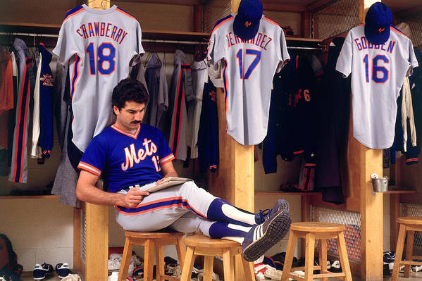 1980-1989 Art Print featuring the photograph Keith Hernandez by Ronald C. Modra/sports Imagery