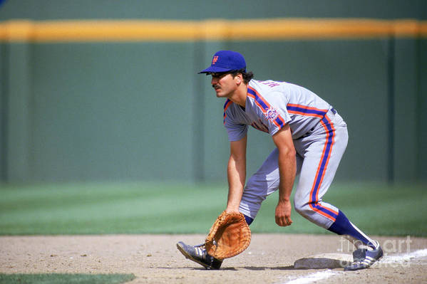 1980-1989 Art Print featuring the photograph Keith Hernandez by Stephen Dunn