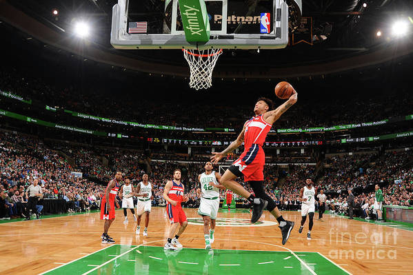 Nba Pro Basketball Art Print featuring the photograph Kelly Oubre by Brian Babineau