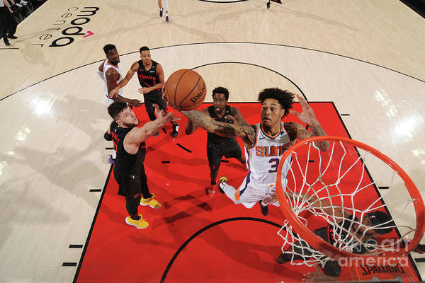 Nba Pro Basketball Art Print featuring the photograph Kelly Oubre by Cameron Browne