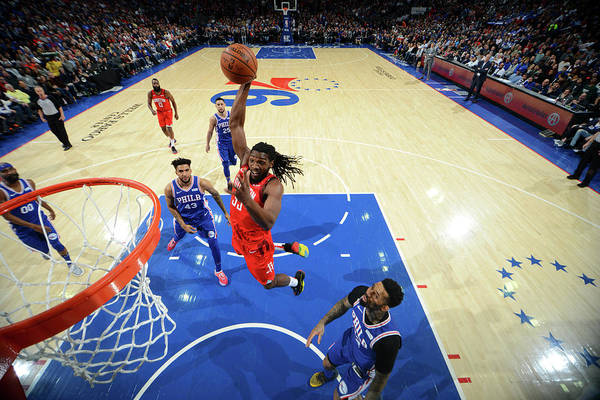 Nba Pro Basketball Art Print featuring the photograph Kenneth Faried by Jesse D. Garrabrant