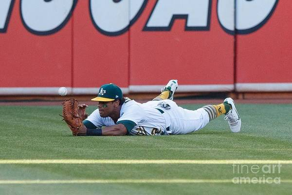 People Art Print featuring the photograph Khris Davis and George Springer by Jason O. Watson