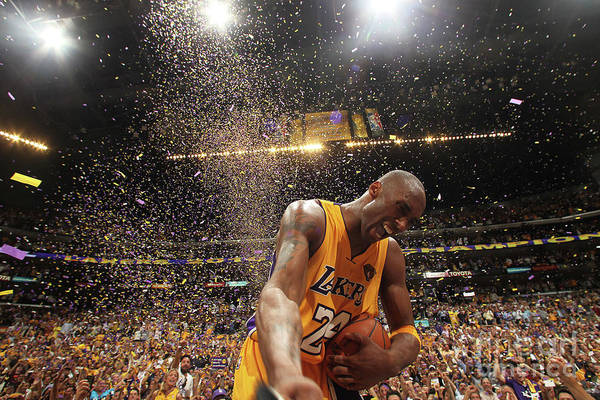 Playoffs Art Print featuring the photograph Kobe Bryant by Nathaniel S. Butler