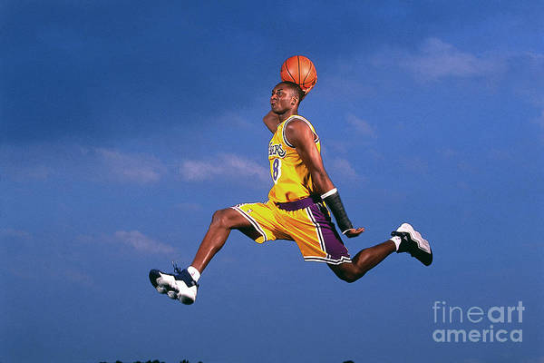 Event Art Print featuring the photograph Kobe Bryant by Walter Iooss Jr.