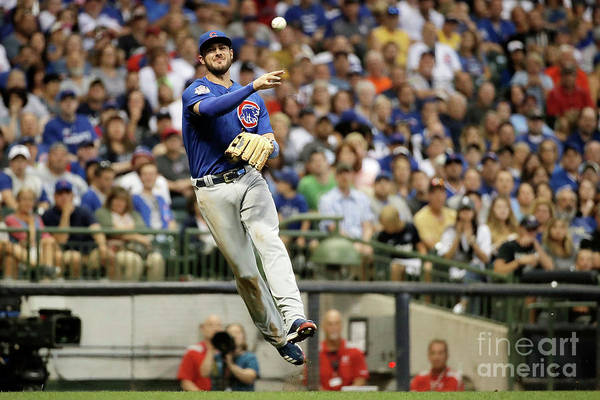 People Art Print featuring the photograph Kris Bryant by Stacy Revere