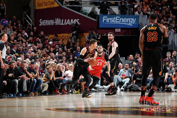 Playoffs Art Print featuring the photograph Kyle Korver by Jeff Haynes