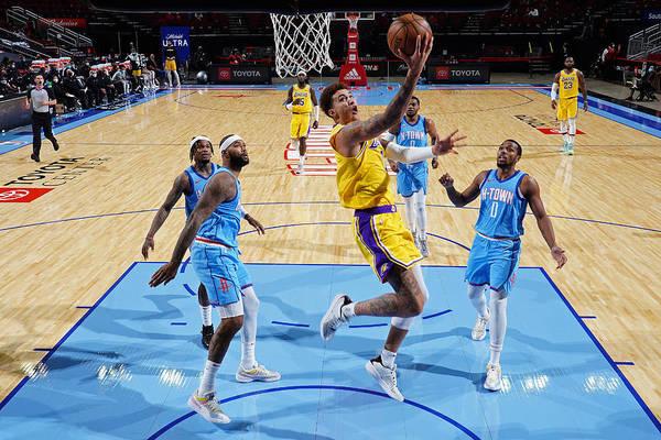 Nba Pro Basketball Art Print featuring the photograph Kyle Kuzma by Cato Cataldo