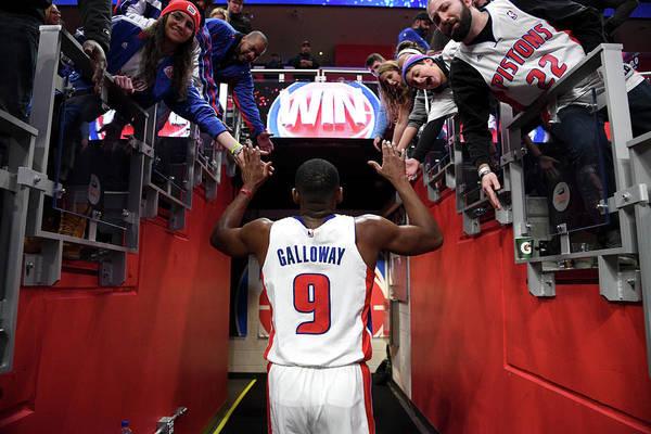 Nba Pro Basketball Art Print featuring the photograph Langston Galloway by Chris Schwegler