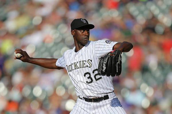 Ninth Inning Art Print featuring the photograph Latroy Hawkins by Justin Edmonds