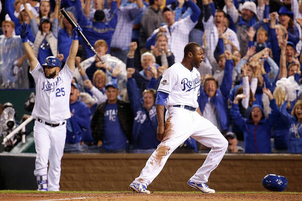 People Art Print featuring the photograph Lorenzo Cain by Rob Carr
