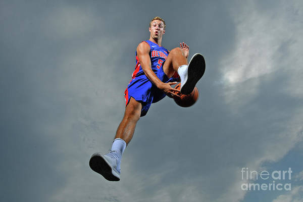 Nba Pro Basketball Art Print featuring the photograph Luke Kennard by Jesse D. Garrabrant