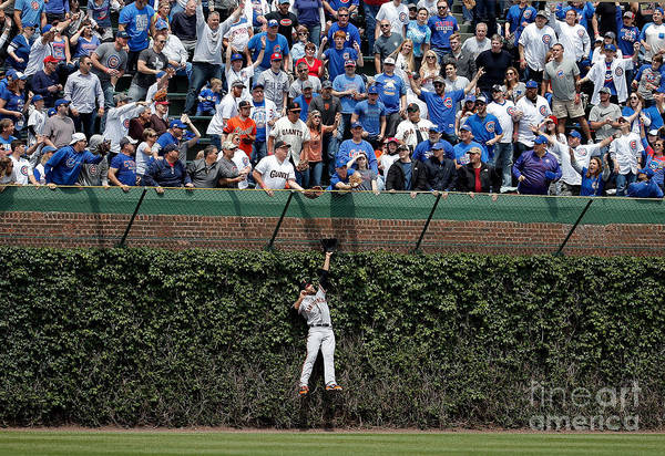 People Art Print featuring the photograph Mac Williamson and Kris Bryant by Jon Durr