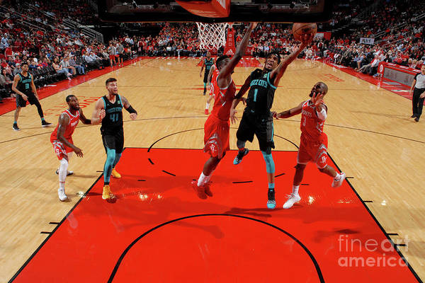 Nba Pro Basketball Art Print featuring the photograph Malik Monk by Bill Baptist