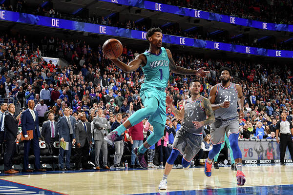 Nba Pro Basketball Art Print featuring the photograph Malik Monk by Jesse D. Garrabrant
