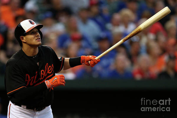 Three Quarter Length Art Print featuring the photograph Manny Machado by Matt Hazlett