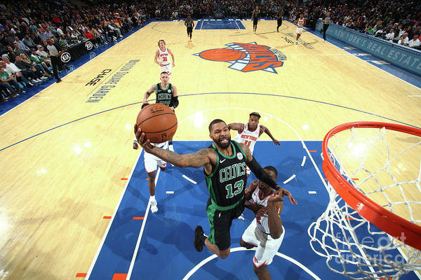 Nba Pro Basketball Art Print featuring the photograph Marcus Morris by Nathaniel S. Butler