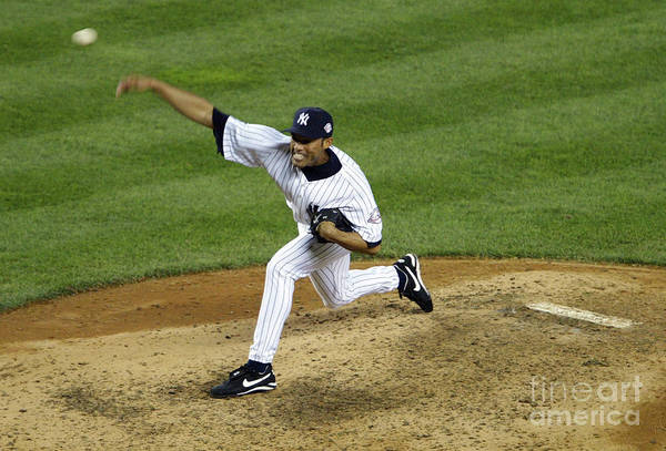 People Art Print featuring the photograph Mariano Rivera by Doug Pensinger