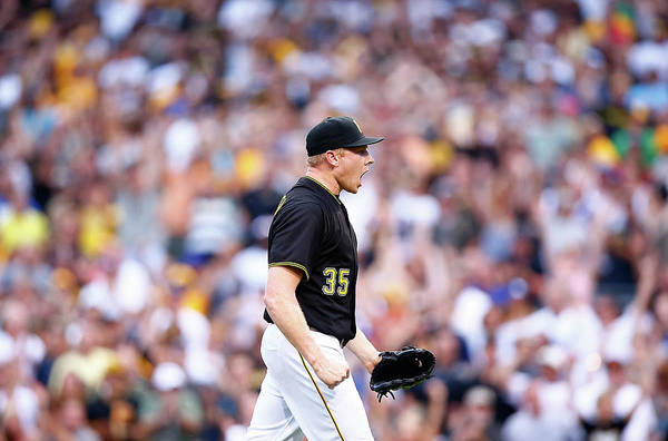 Following Art Print featuring the photograph Mark Melancon by Jared Wickerham