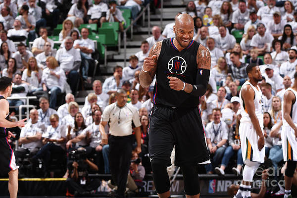 Playoffs Art Print featuring the photograph Marreese Speights by Andrew D. Bernstein