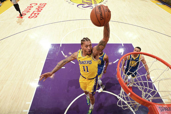 Michael Beasley Art Print featuring the photograph Michael Beasley by Andrew D. Bernstein