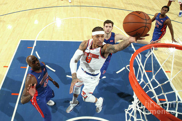 Michael Beasley Art Print featuring the photograph Michael Beasley by Nathaniel S. Butler