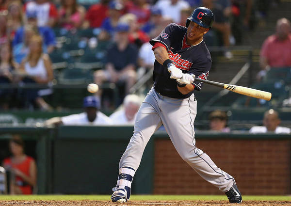 People Art Print featuring the photograph Michael Brantley by Ronald Martinez