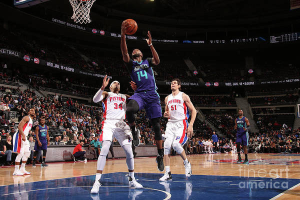 Nba Pro Basketball Art Print featuring the photograph Michael Kidd-gilchrist by Brian Sevald