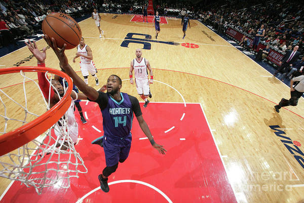 Nba Pro Basketball Art Print featuring the photograph Michael Kidd-gilchrist by Ned Dishman