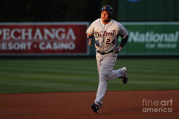 People Art Print featuring the photograph Miguel Cabrera by Sean M. Haffey