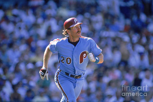 1980-1989 Art Print featuring the photograph Mike Schmidt by John Williamson