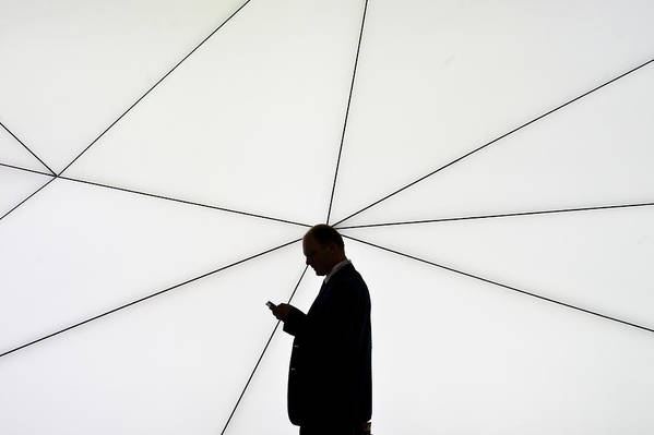 Corporate Business Art Print featuring the photograph Mobile World Congress 2013 by David Ramos