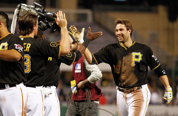 Ninth Inning Art Print featuring the photograph Neil Walker by Justin K. Aller
