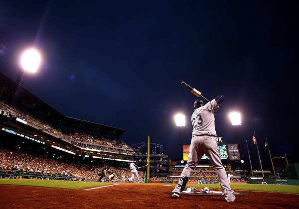 Expertise Art Print featuring the photograph Nelson Cruz by Justin K. Aller