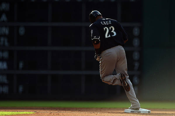 Following Art Print featuring the photograph Nelson Cruz by Stacy Revere