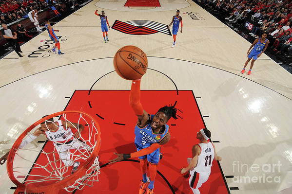Playoffs Art Print featuring the photograph Nerlens Noel by Cameron Browne