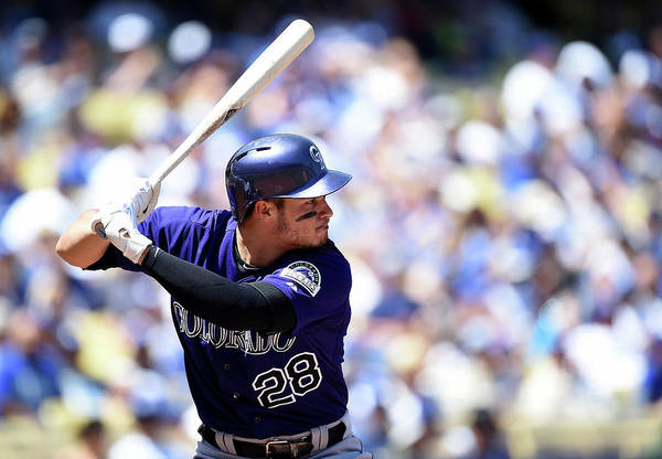 Second Inning Art Print featuring the photograph Nolan Arenado by Harry How